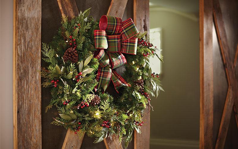 A Wreath for Every Door