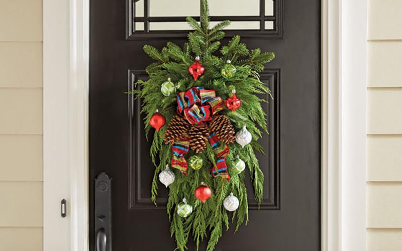 DIY Swag Wreath