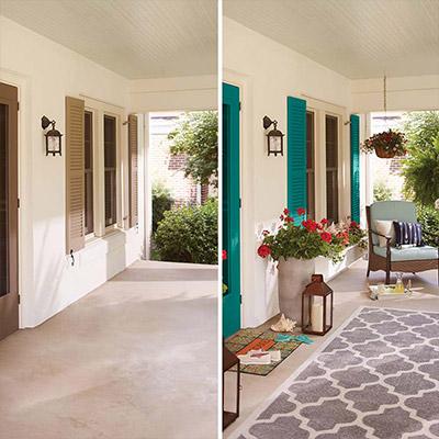 10-Minute Ideas for Summer Porch Décor