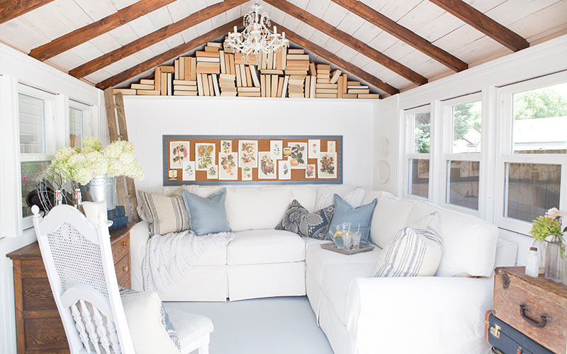 Cozy Cottage Shed
