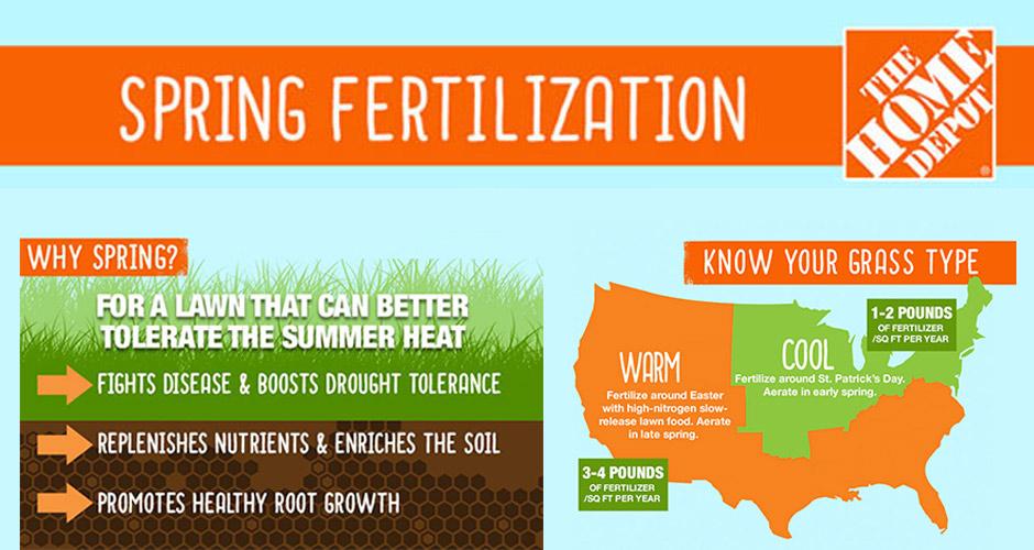 Spring Fertilization Infographic