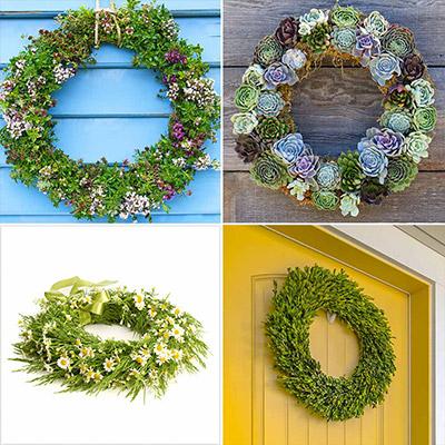 4 Spring Wreaths that Will Brighten Your Door