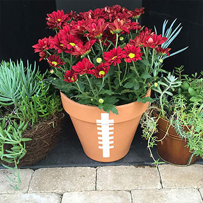 5 Game Day Flower Ideas for Your Tailgate Spread