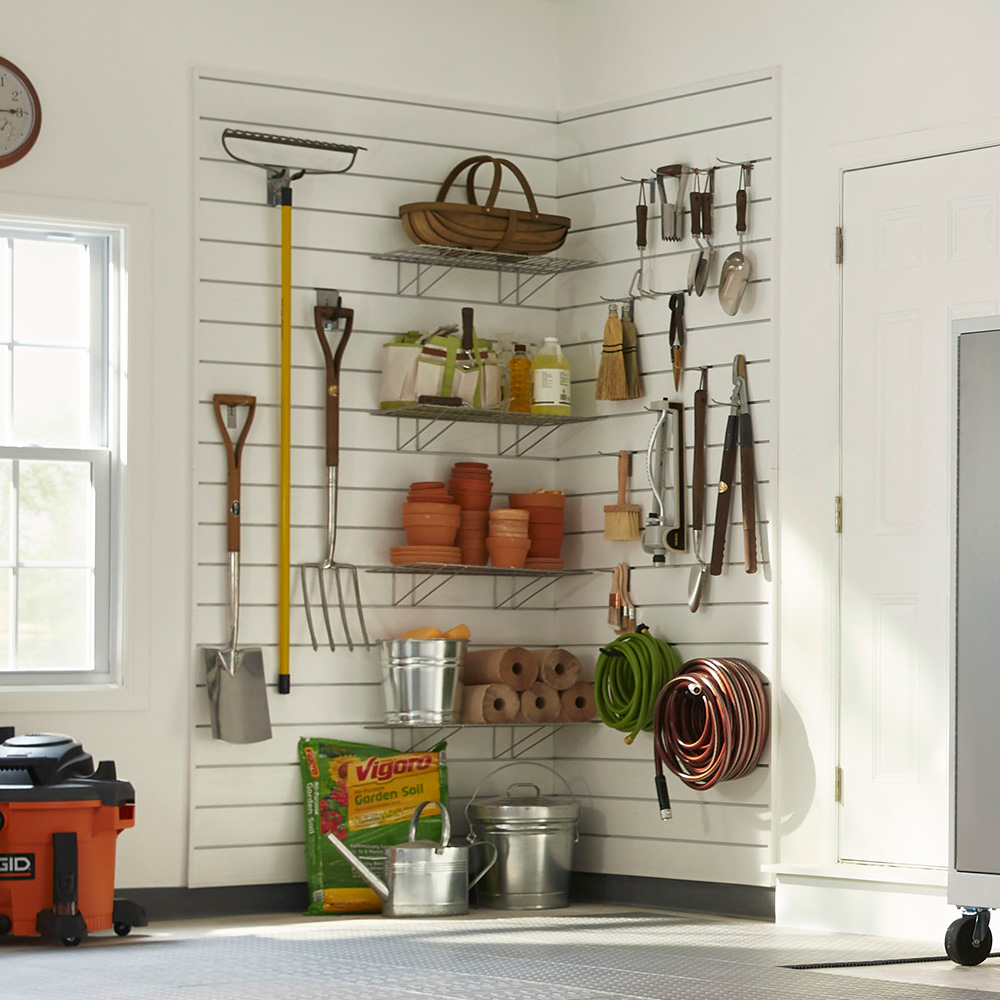 7 Ideas For Garden Tool Storage And Organization The Home Depot