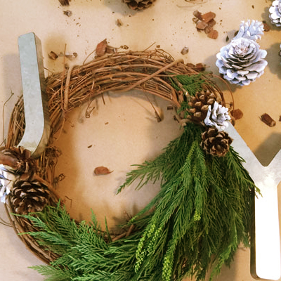 Bring Joy to the Season with a DIY Christmas Wreath