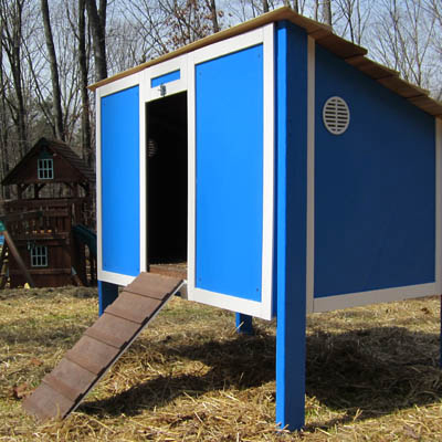 Video: How to Build a Chicken Coop, Parts 1 and 2