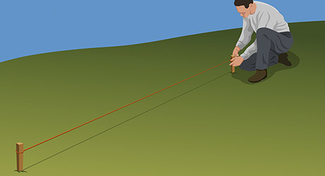 How To Build A Fence On Hill The Home Depot