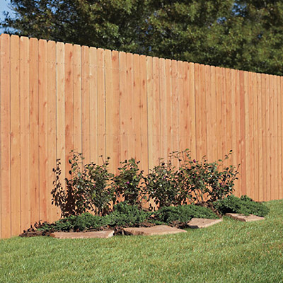 Wood Fence Posts Fencing The Home Depot