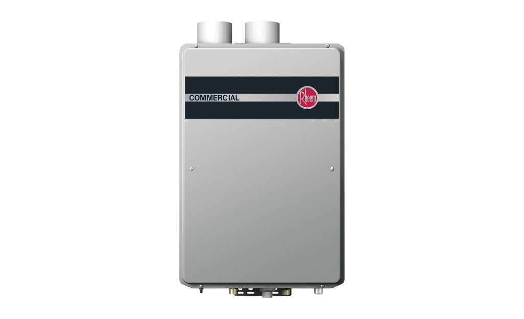 A tankless water heater.