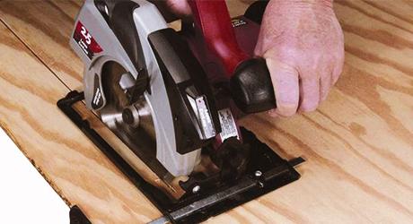 Ripping with circular saw - Cutting Ripping with Circular Saw