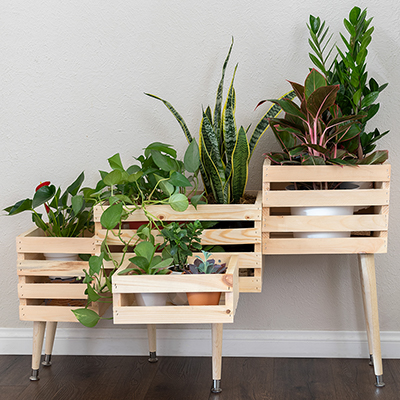 Plant Stands Planters The Home Depot