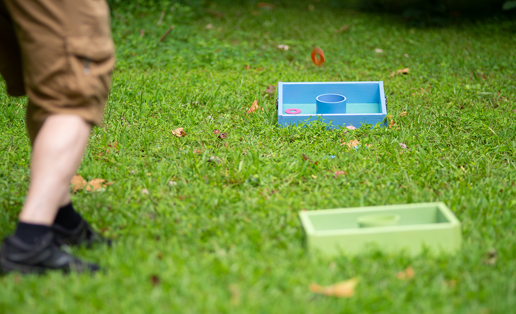 Diy Lawn Game Ideas The Home Depot