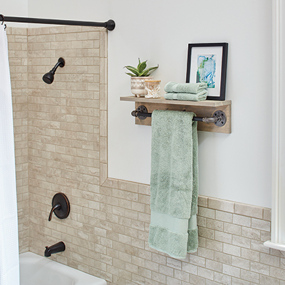 Towel Racks Bathroom Hardware The Home Depot
