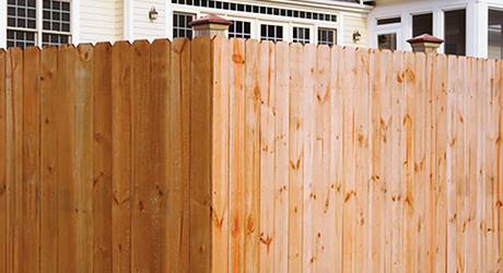 Cedar - Fencing Material Build Quality Fence