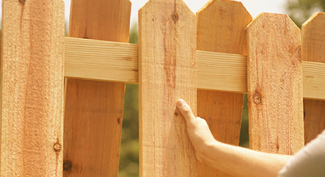 Redwood - Fencing Material Build Quality Fence