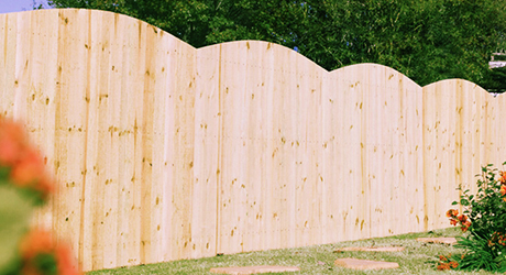 Southern Yellow Pine - Fencing Material Build Quality Fence