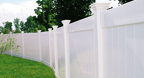 Vinyl Fencing - Fencing Material Build Quality Fence