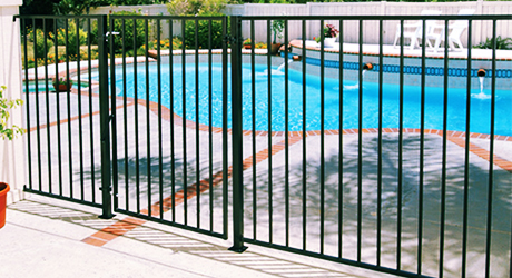 Aluminum Fencing - Fencing Material Build Quality Fence