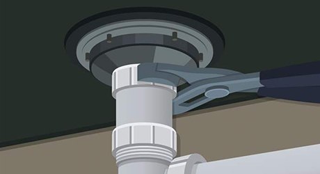 Disconnect Slip Nuts Fixing Leaky Sink Strainers