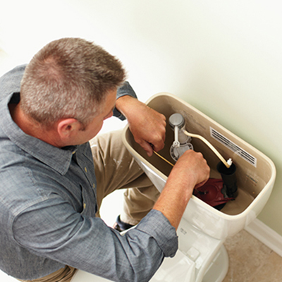 Fixing a Leaky Toilet Flapper