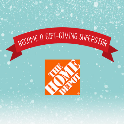 Gift Giving Infographic by the Home Depot