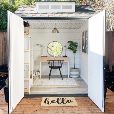 Home Office Shed Transformation