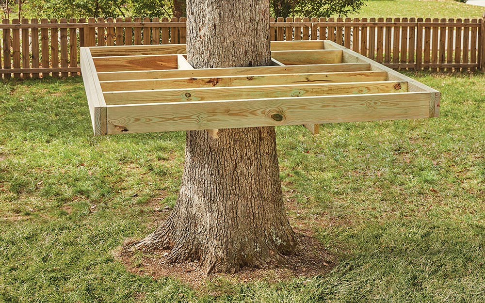 How To Build A Treehouse The Home Depot