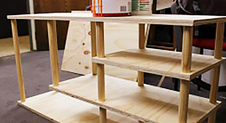 How To Build A Shoe Rack The Home Depot