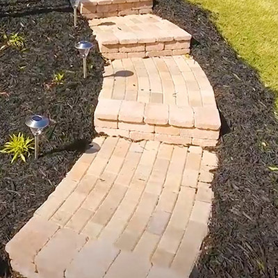 How To Build A Walkway The Home Depot