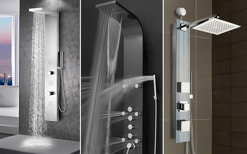 Consider a shower tower- Customize your shower
