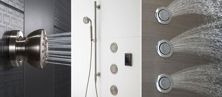 Add shower jets- Customize your shower