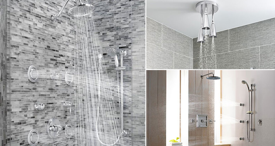 Create a spa like shower- Customize your shower