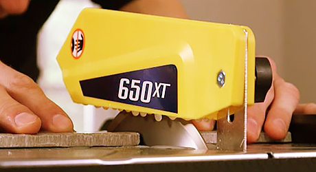 Cutting tile - Cut Tile Wet Saw