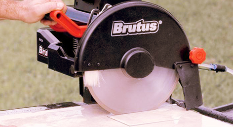 Making plunge cuts - Cut Tile Wet Saw