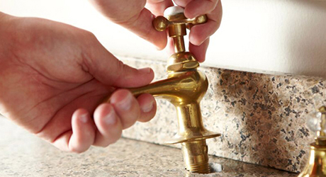 Remove old faucet - Install Widespread Faucet