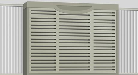 Turn on cooler - Installing Evaporative Cooler