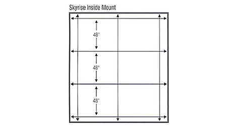 Create accurate measuring template window - Measure Skylights Arches