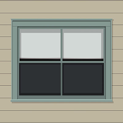 Paint Exterior Windows