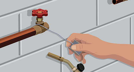 install shutoff valve - Installing Whole-House Water Filter