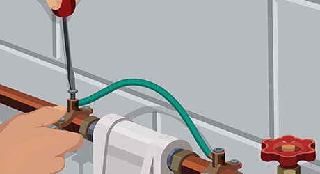 jumper cable needed - Installing Whole-House Water Filter