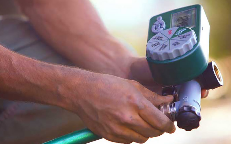 Measure Your Time water - Lawn Watering Tips Techniques