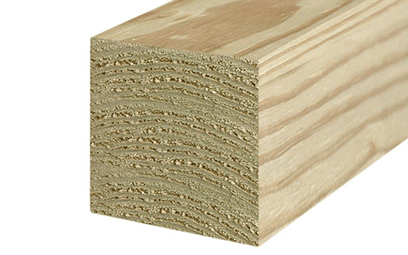 pressure-treated lumber