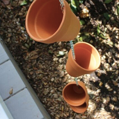 How to Make a Clay Pot Rain Chain