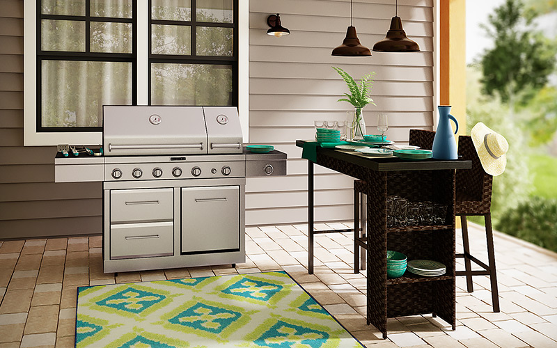 Outdoor Kitchen Ideas for Your Home - The Home Depot