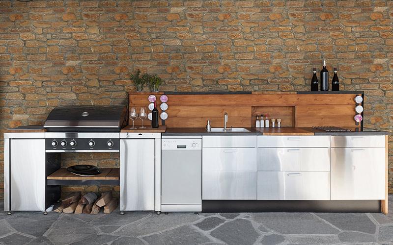 Rustic Outdoor Kitchens