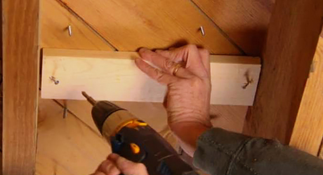 Cleat subfloor  - Stopping Squeaks Your Floors Stairs
