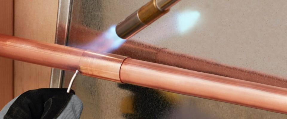 Soldering a Copper Pipe