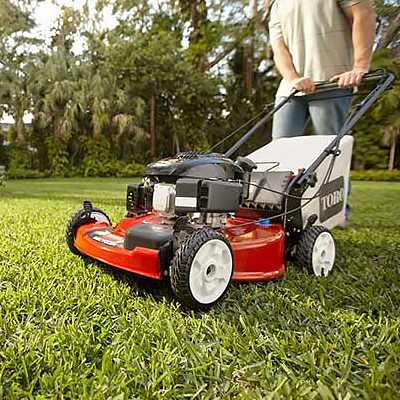 Walk-Behind Lawn Mowers