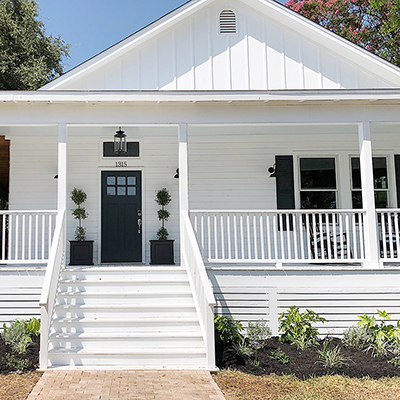 Adding Curb Appeal to a 100-Year-Old Home Remodel