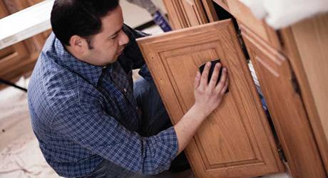 Refinish kitchen cabinets - Affordable Kitchen Updates